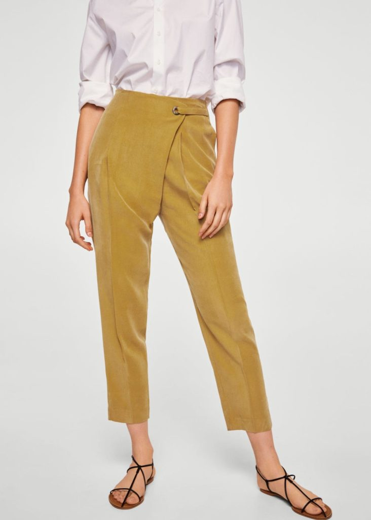 Baggy-Pants in Wickeloptik | MANGO