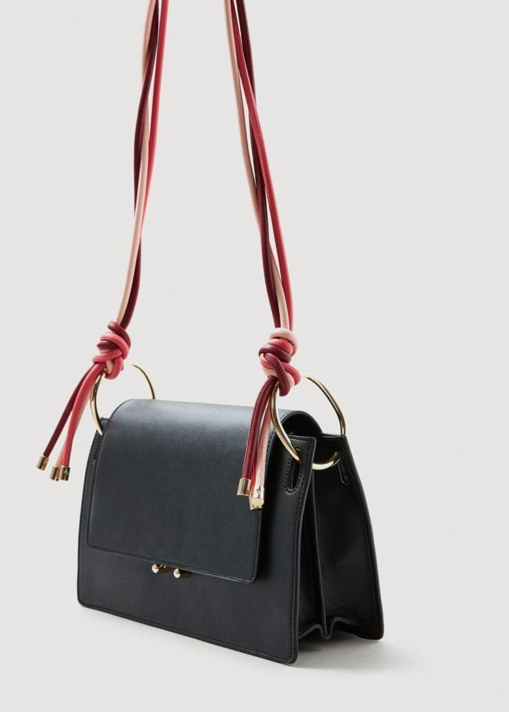Tasche mit Schulterkordeln | MANGO