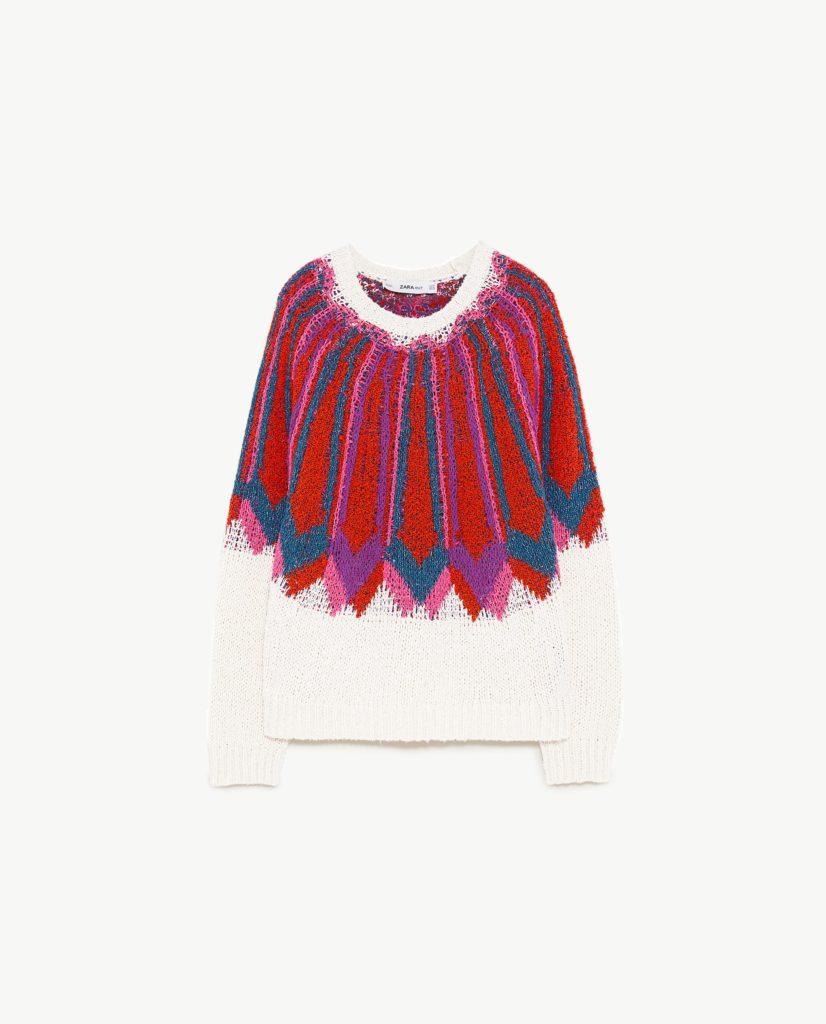 Jacquardpullover | Zara