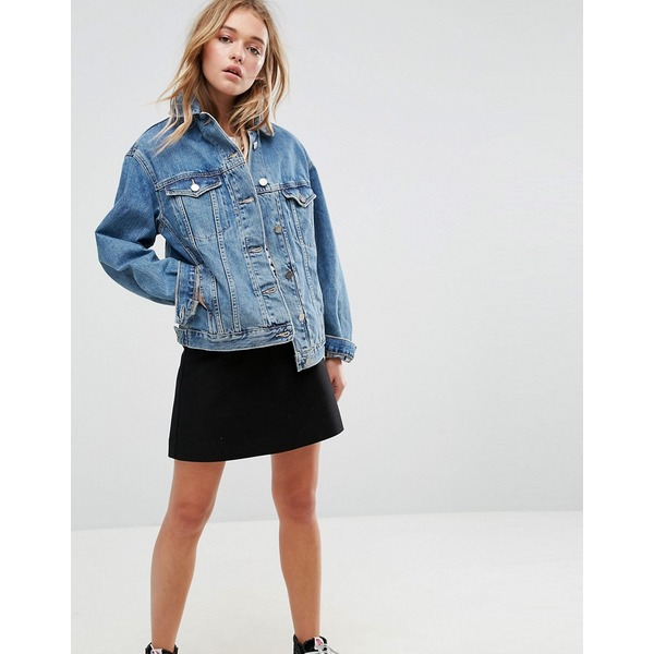 Girlfriend Jeansjacke | ASOS