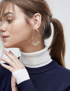 Gehämmerte Ohrringe | ASOS