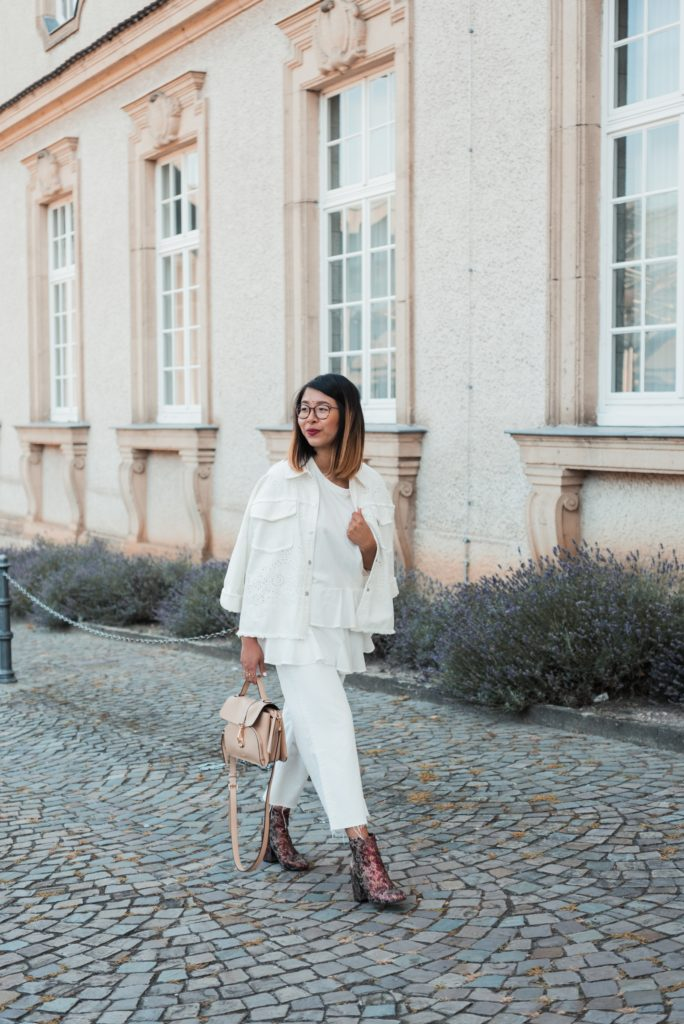 in high fashion laune | All White Look