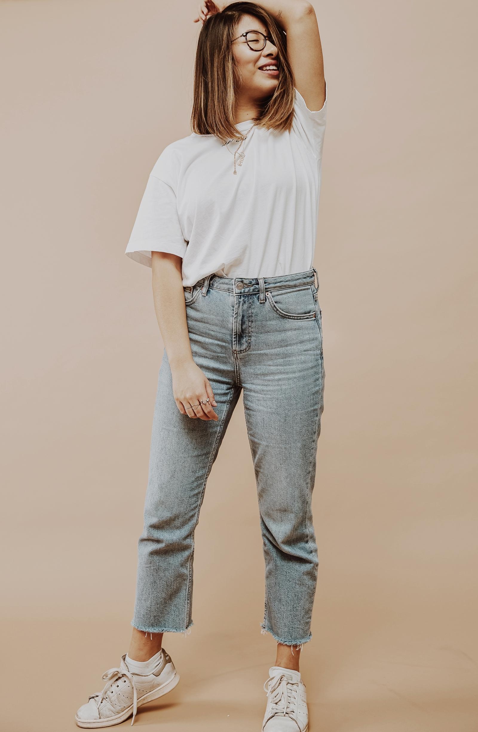 inhighfashionlaune | Jeans Guide: die perfekten Jeans für kleine Frauen