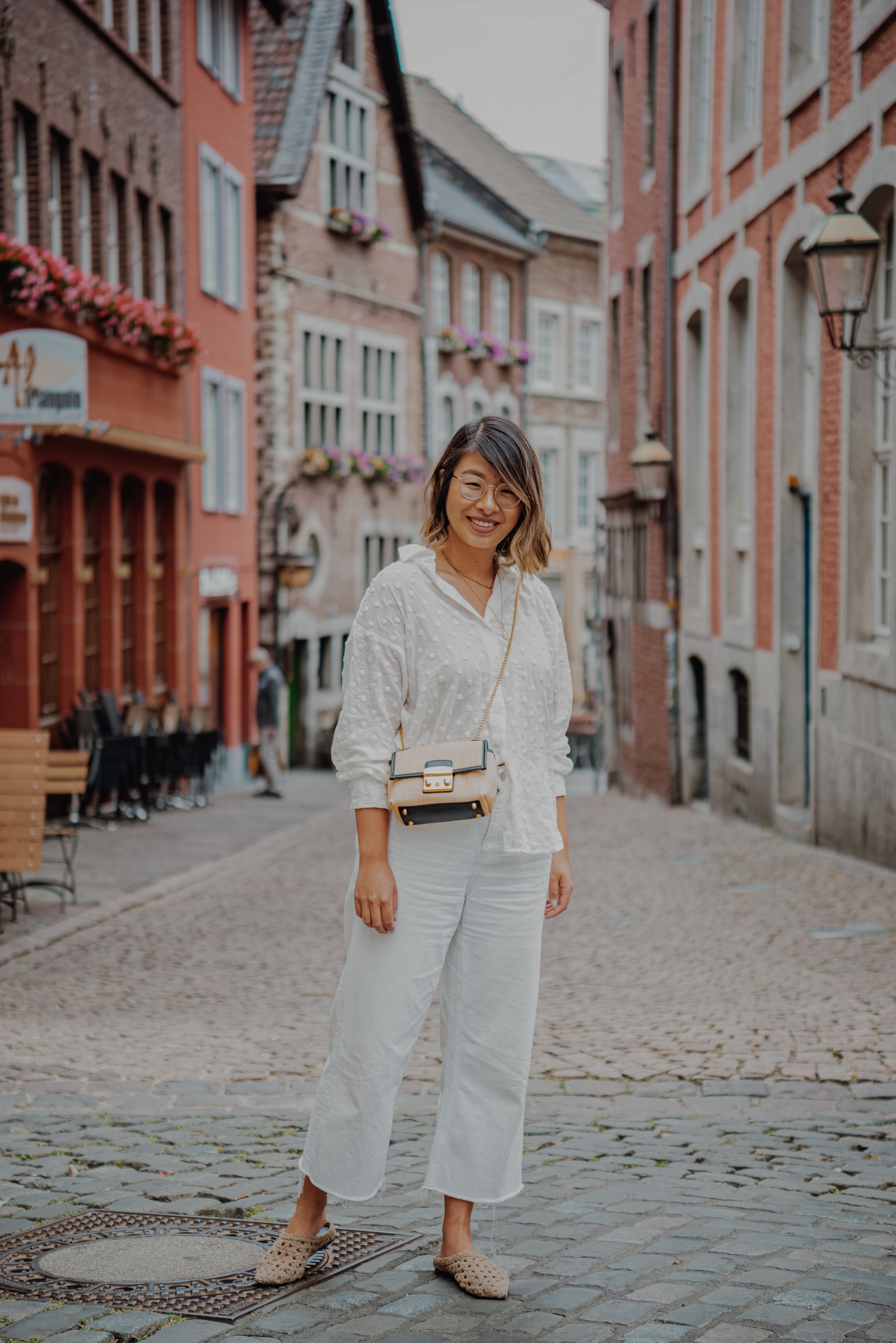 inhighfashionlaune | All White Outfit