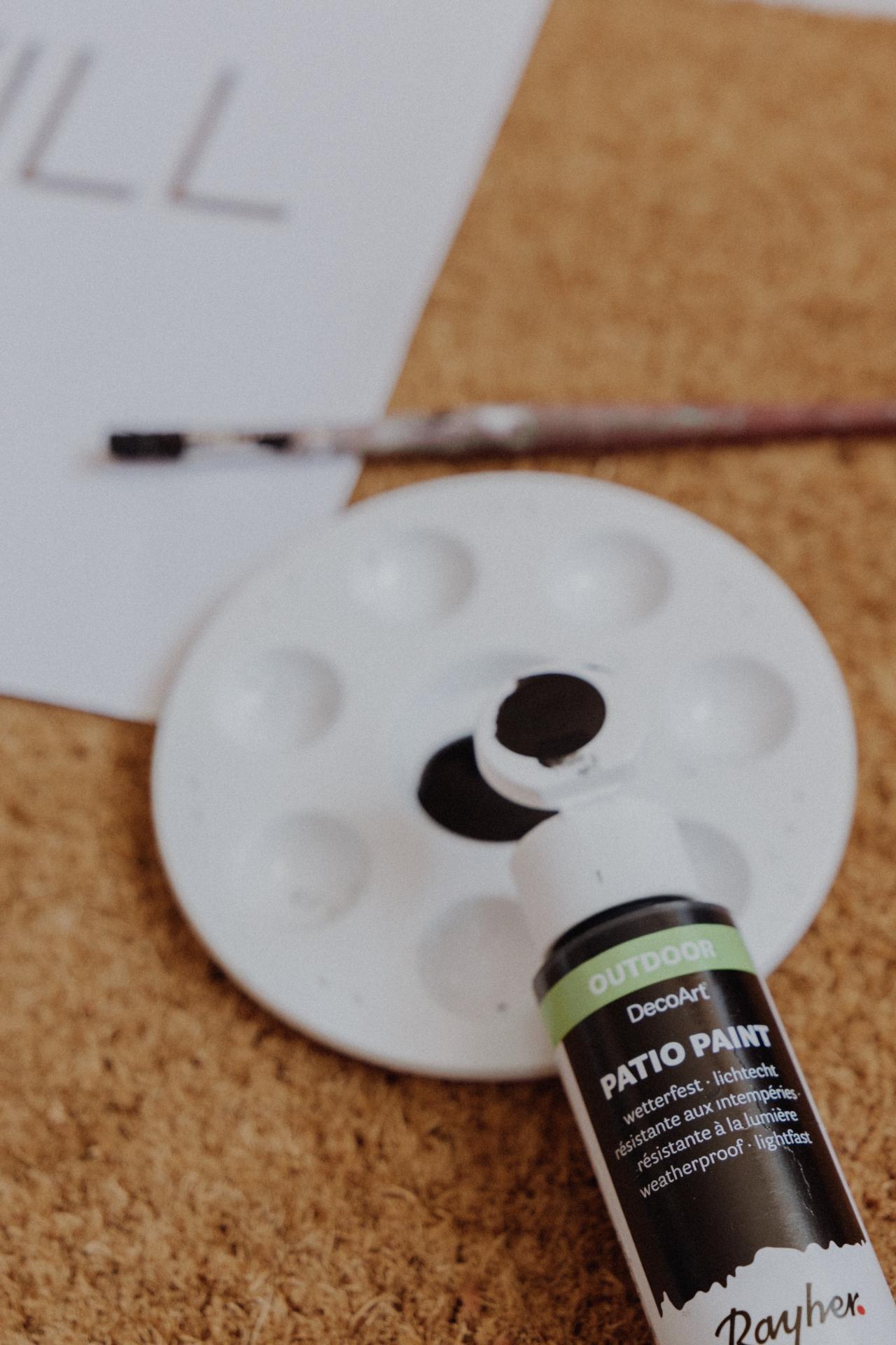 LINHÉ | DIY Personalisierte Fußmatte Outdoor Farbe
