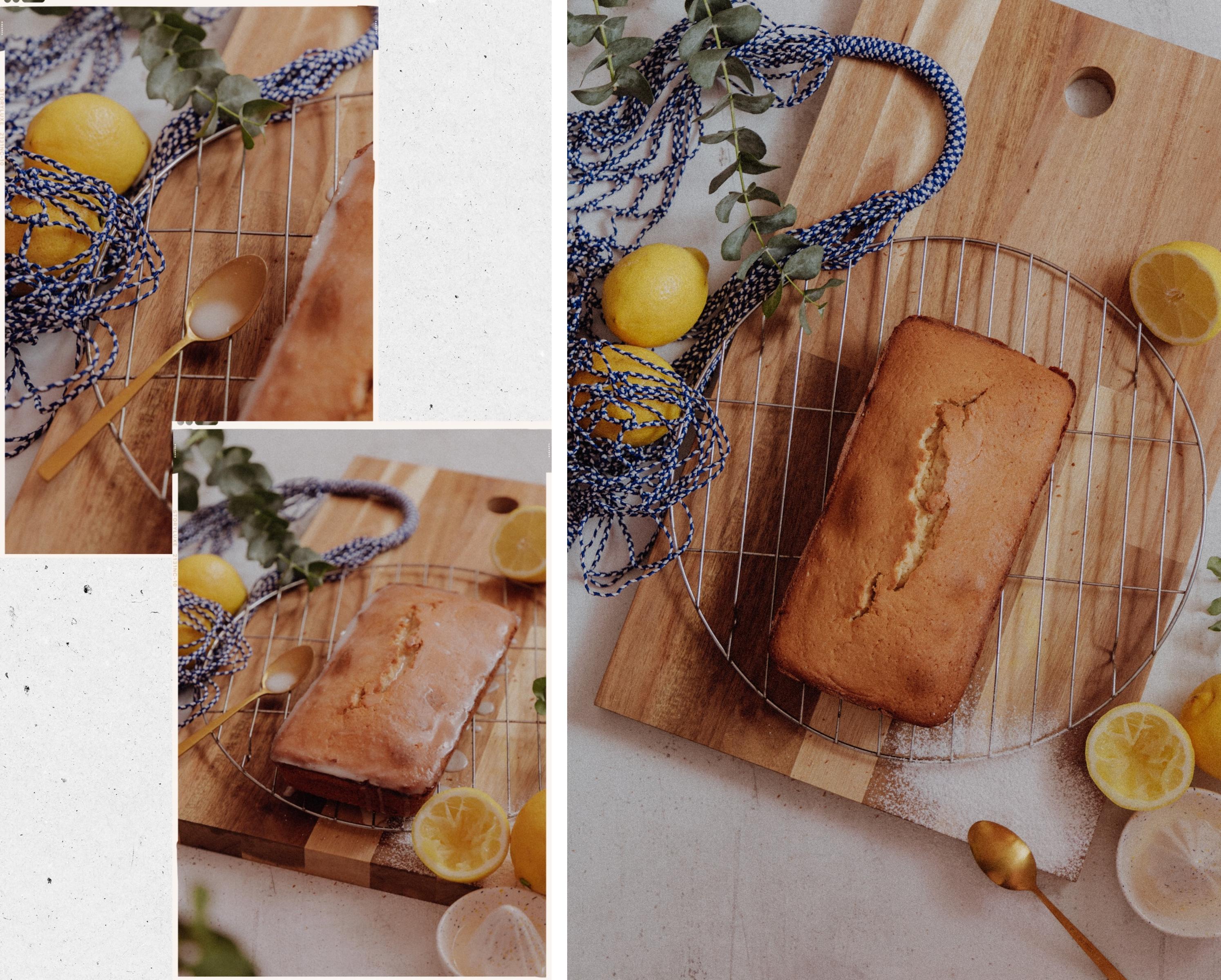 LINHÉ | Rezept Lemon Drizzle Cake