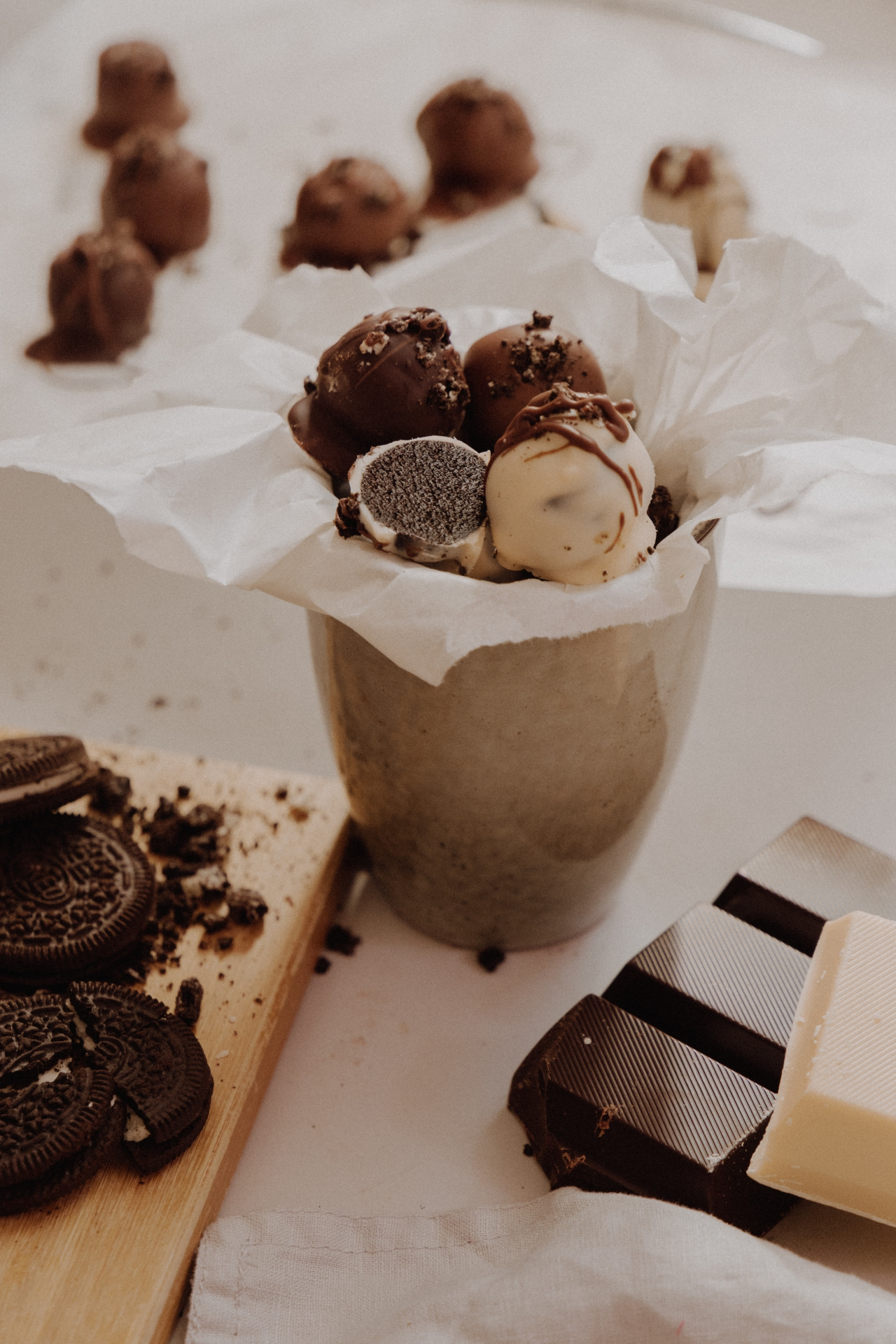 LINHÉ | Rezept Oreo Pralinen